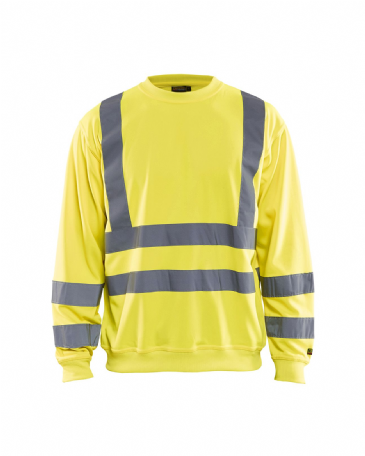 Blaklader 3341 Sweatshirt High Vis (Yellow)
